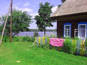 Real Russian countryside